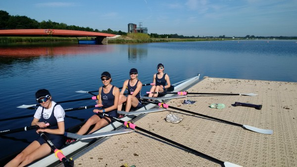 Sunny training at DOrney Lake